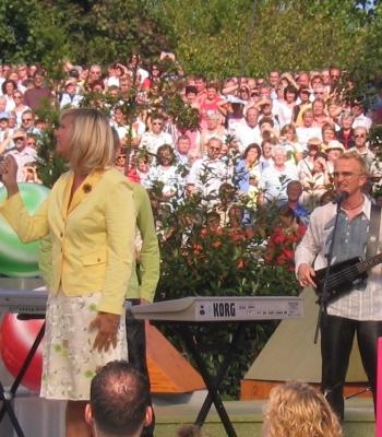 Andrea Kiewel – ZDF Fernsehgarten